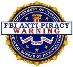 FBI Antipiracy Warning