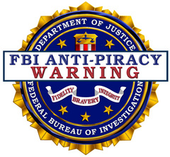FBI Antipiracy Warning