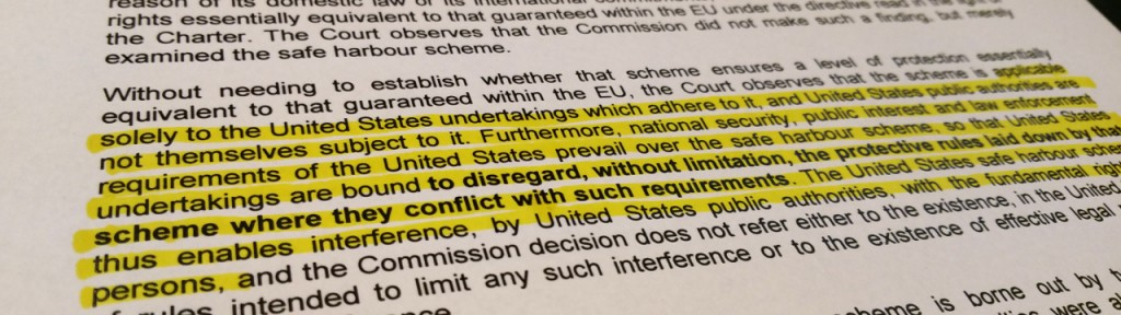 Highlighted part of verdict summary