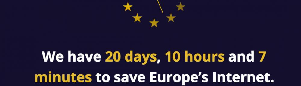 save eu net neutrality