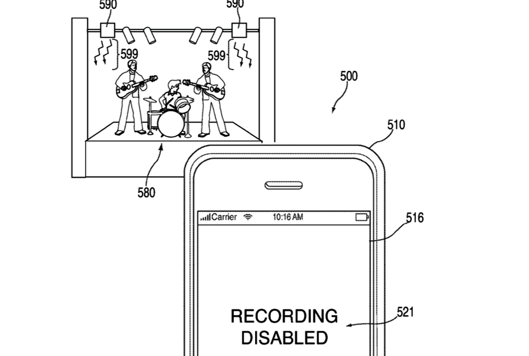 Apple patents technology enabling police to prevent iPhones from