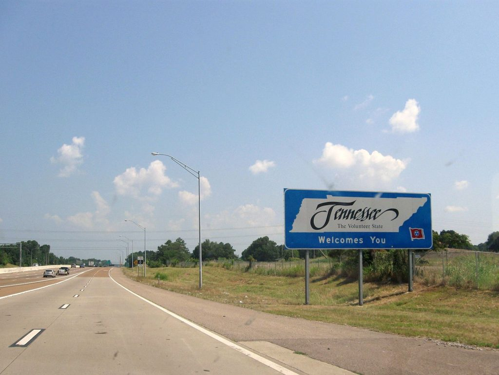tennessee, welcome to tennessee
