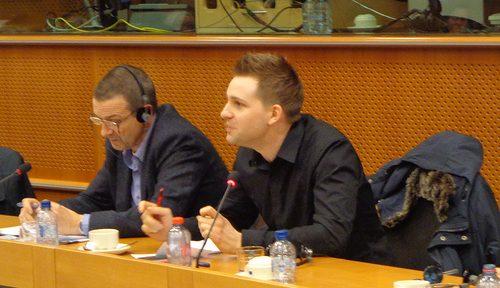 Max Schrems. Photo by MEP Josef Weidenholzer, CC-BY.