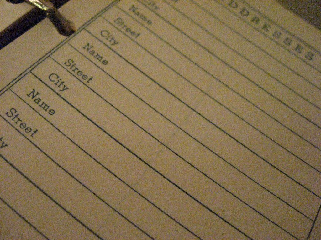 ip address book