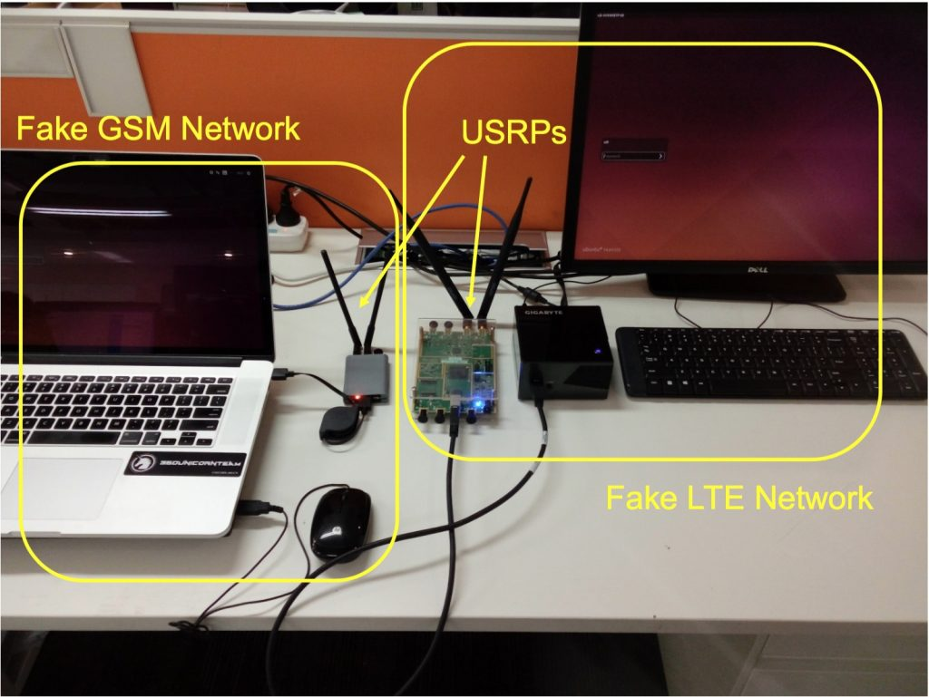 personal 4g stingray device