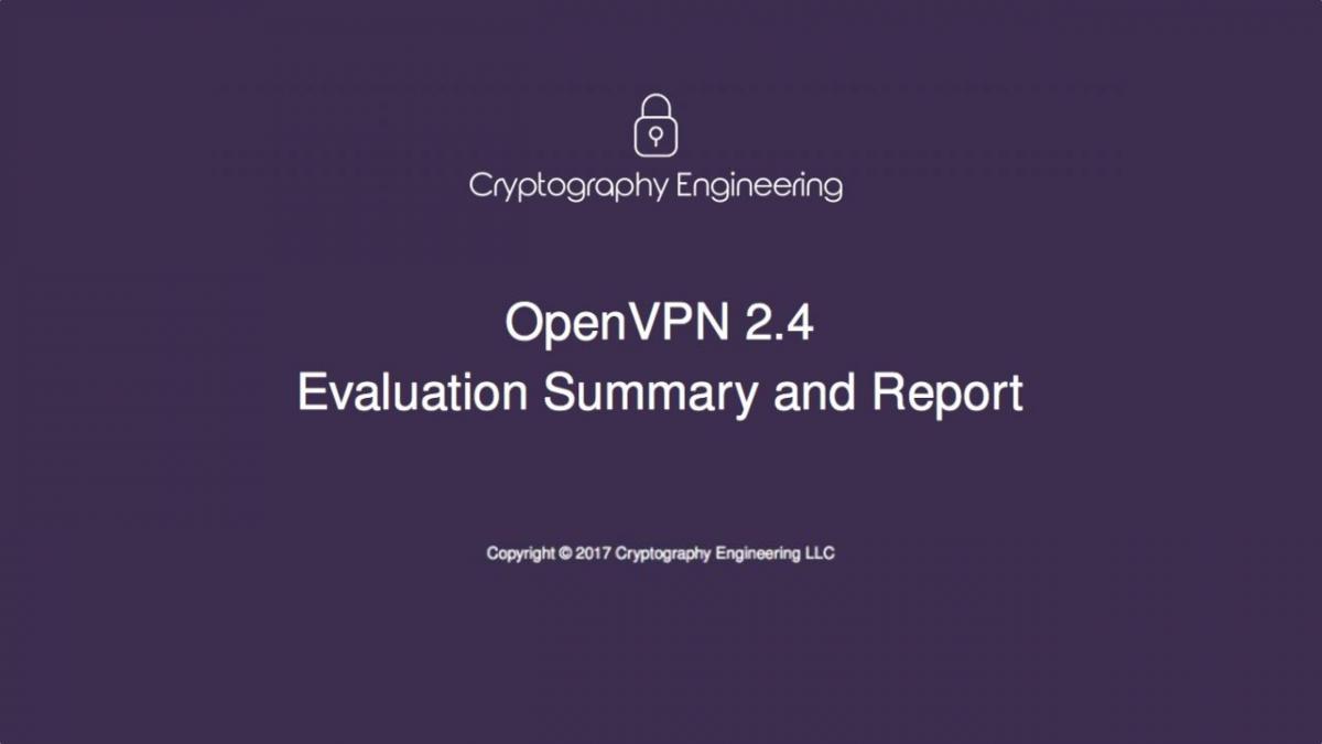 openvpn audit report