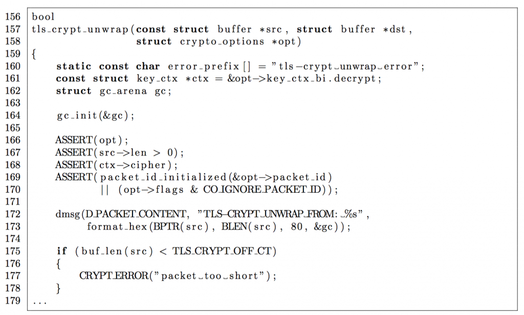 Info crypt crypto object is instantiated
