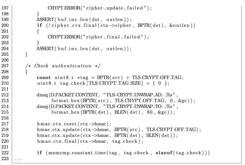 OpenVPN 2 4 Evaluation Summary and Report