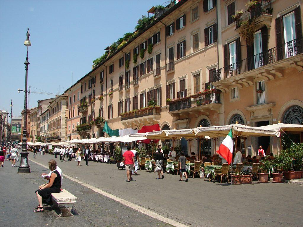 public wifi hotspot at piazza