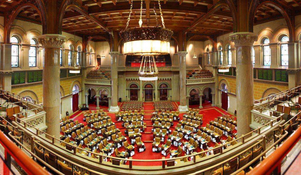 New York Assembly internet privacy vote