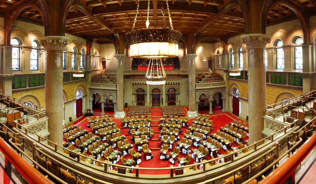 New York Assembly internet privacy vote