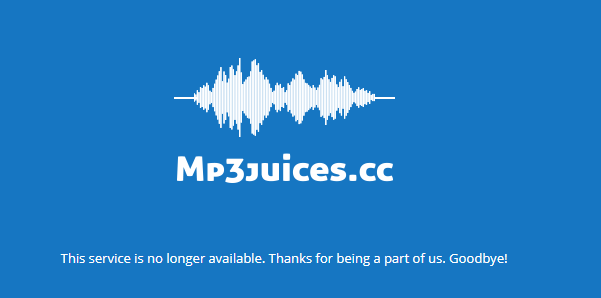 youtube mp3 site goes down