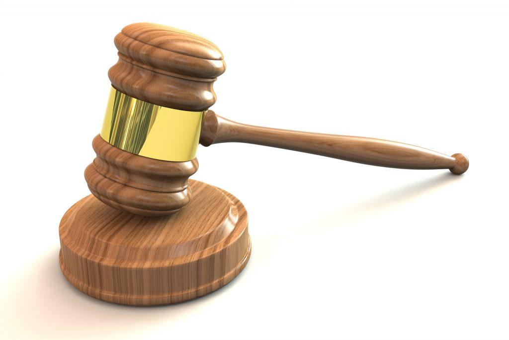 court injunction against website