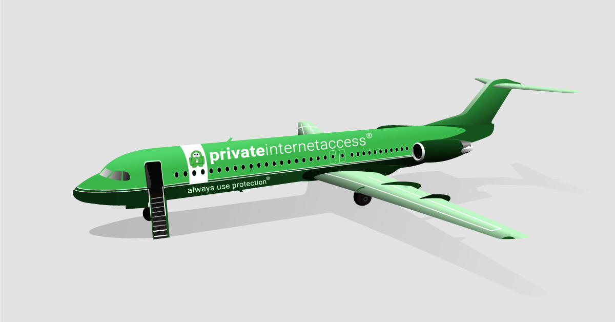 save on airline tickets with Private Internet Access VPN