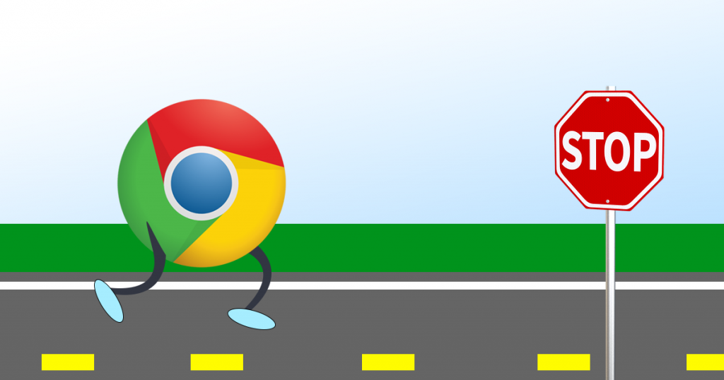Make Google Chrome stop running in the background