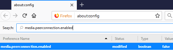 firefox disable web security