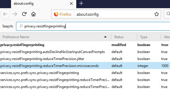 Firefox Hardening Guide 2018