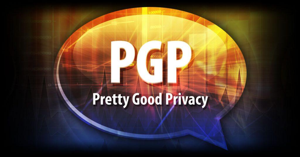 PGP Pretty Good Privacy