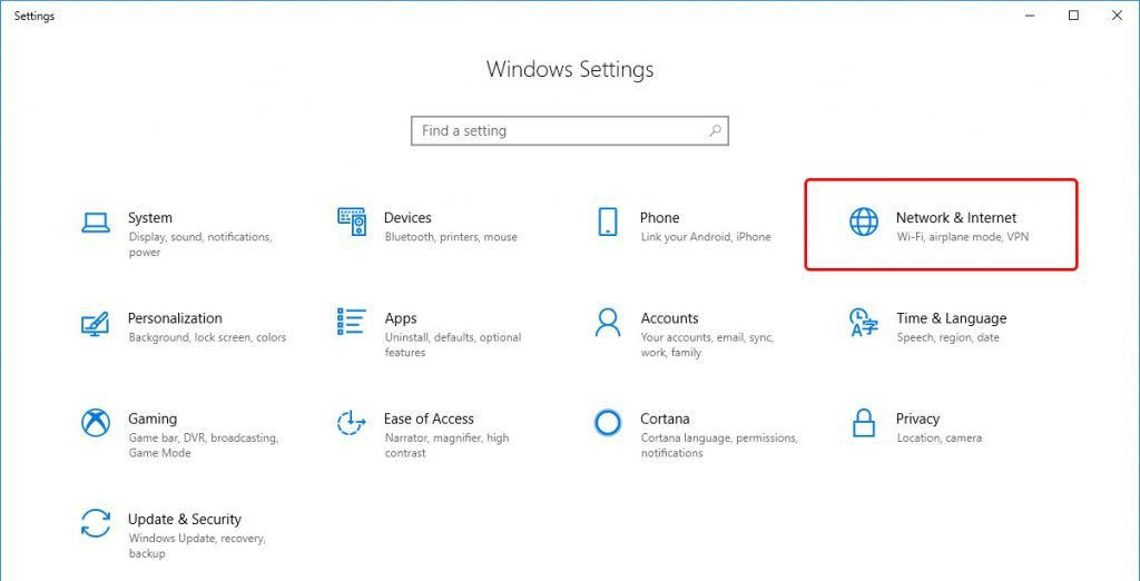 Changing Your DNS Settings on Windows 10