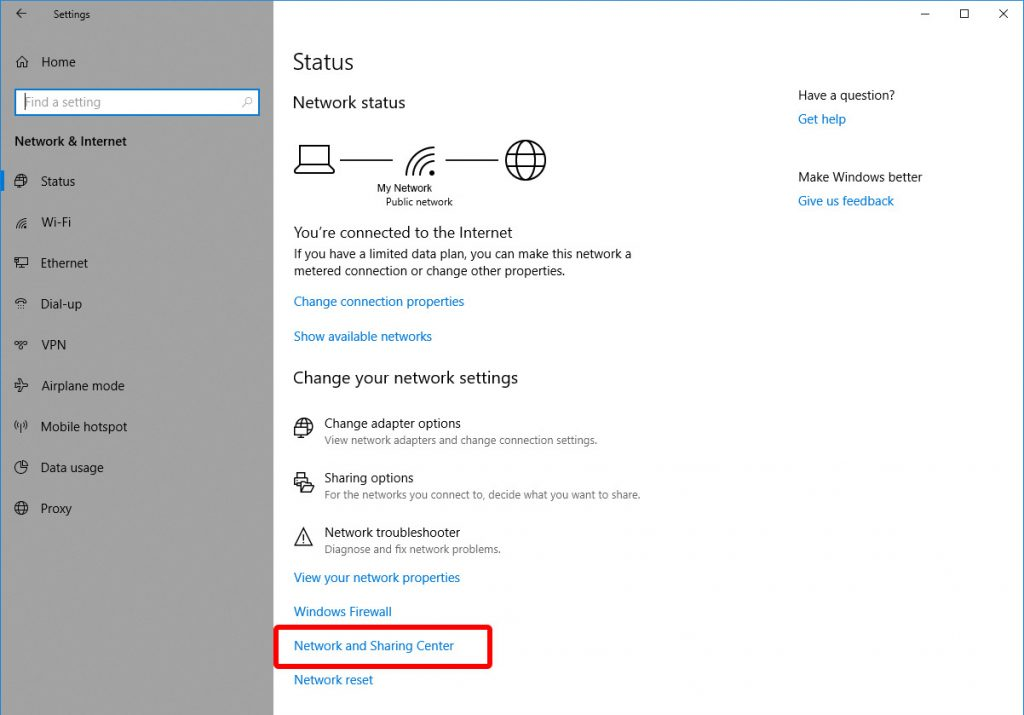 Update DNS settings on Windows 10 - Step 3