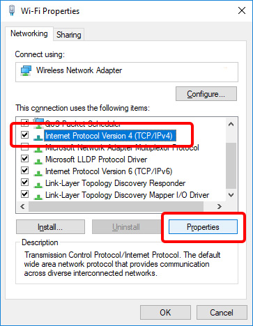 Update DNS settings on Windows 10 - Step 6