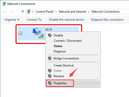 Update DNS settings on Windows 10 - Step 5