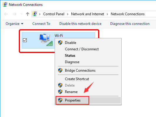 Update DNS settings on Windows 10 - Step 5
