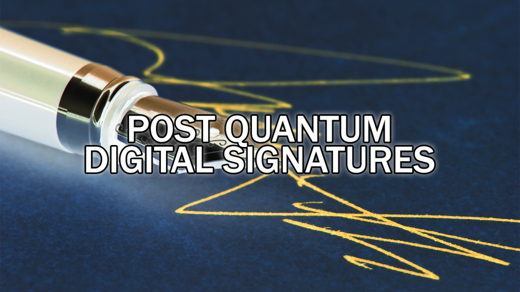 NIST Round 2 and Post-Quantum Cryptography - The New Digital