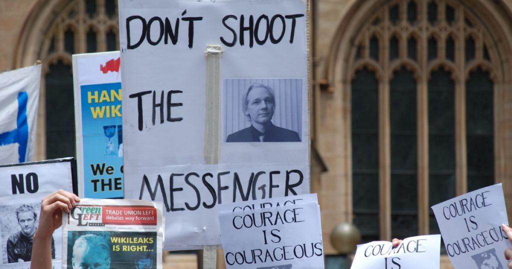 Julian Assange arrested