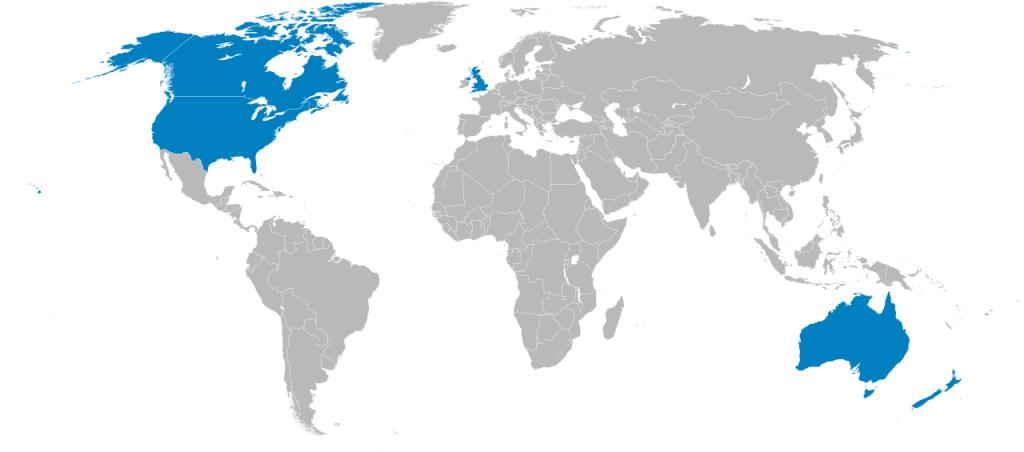 UK, US, Australia, Canada and New Zealand meet to discuss