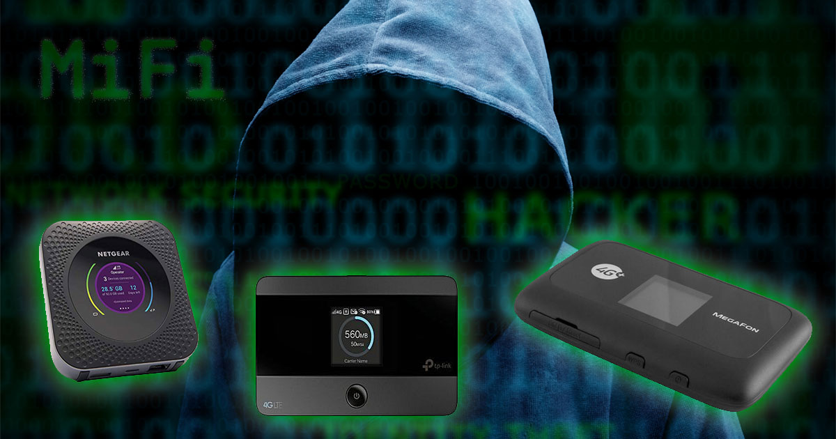 MiFi 4G hotspots are vulnerable to hacking, use a VPN to protect yourself