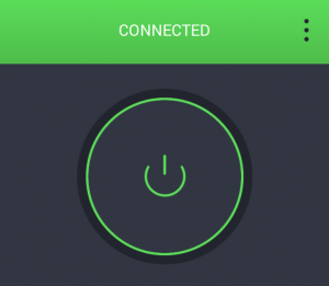private internet access connected