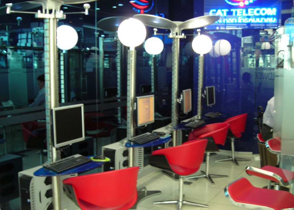 mandatory internet history logs at thai internet cafes
