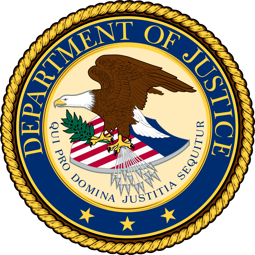 department of justice sued facial recognition