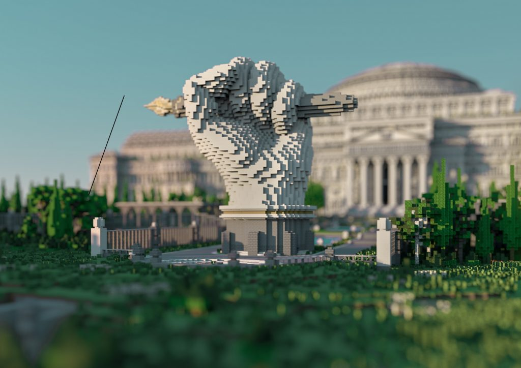 Activists in Minecraft made a digital library to bypass government censorship