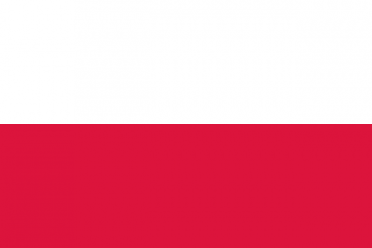 polish flag covid-19 selfie app