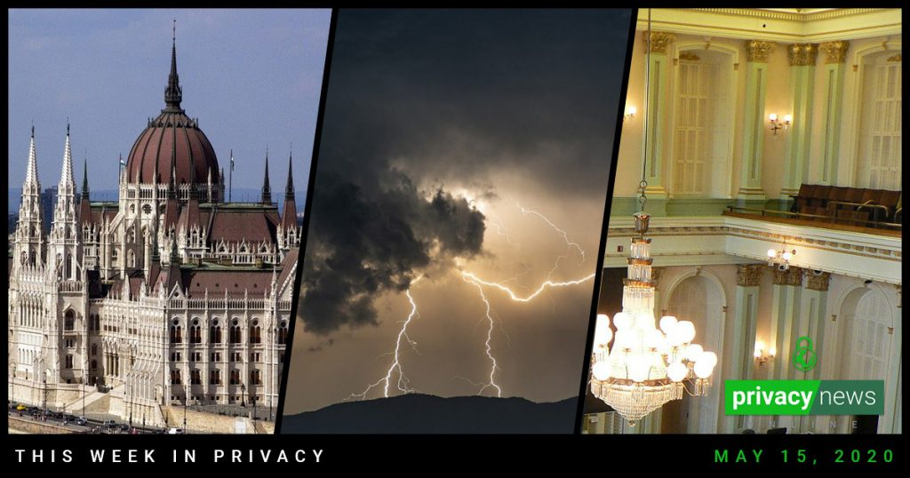 Privacy News Online - May 15, 2020
