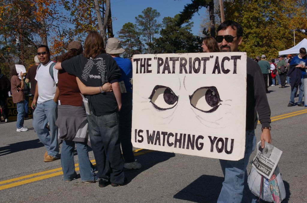 how a vpn protects internet history from the patriot act