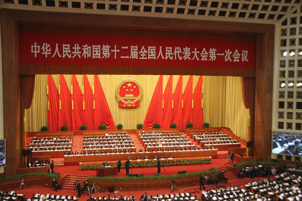 national people's congress of china to pass national security law for Hong Kong