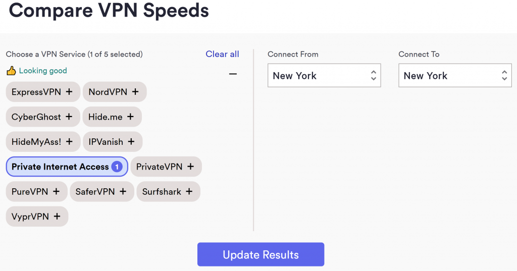 use top 10 vpn speed test tool to compare vpn speeds