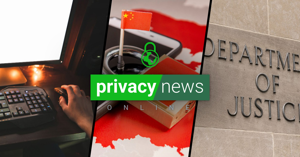 Privacy News Online | August 14, 2020
