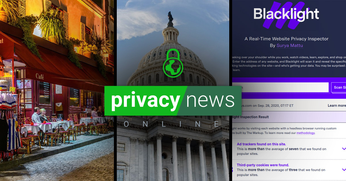 Privacy News Online | Weekly Review: October 9, 2020