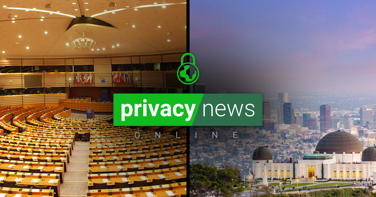Privacy News Online Weekly News for November 6, 2020