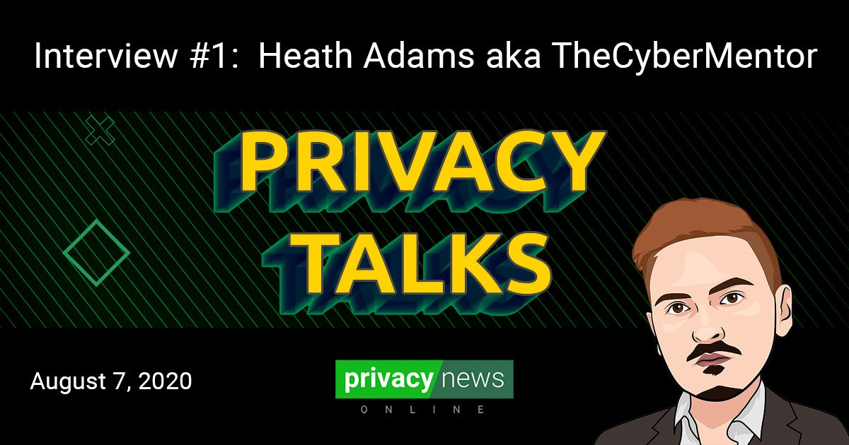 Privacy Talks | Interview with TheCyberMentor