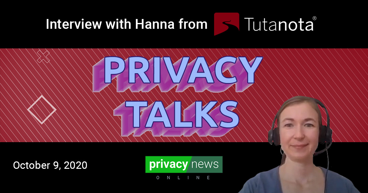 Privacy Talks | Interview with Hanna from Tutanota