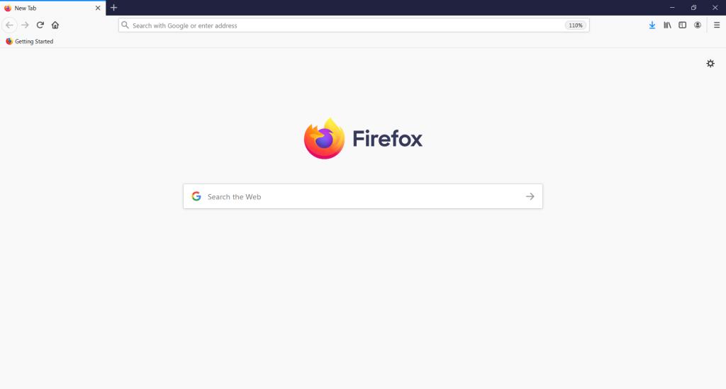 New Firefox window